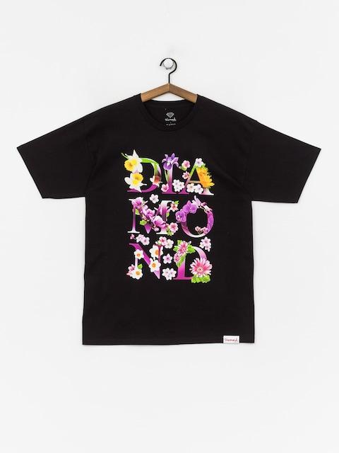 Diamond Supply Co. Botanical T-shirt (black)
