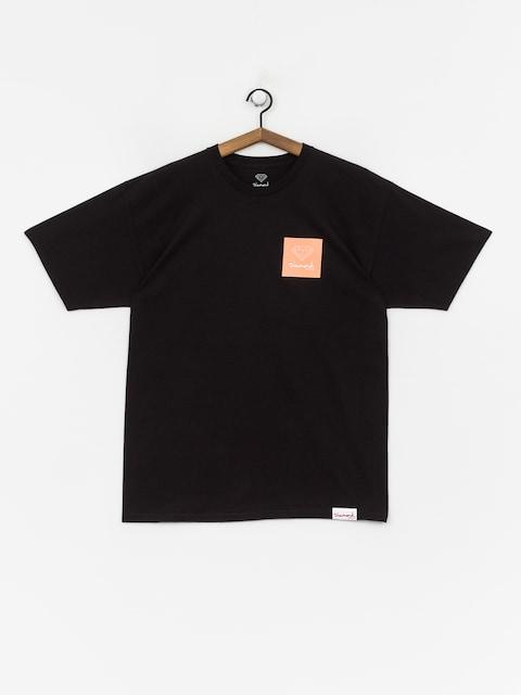 Diamond Supply Co. Mini Og Sign T-shirt (black/orange)