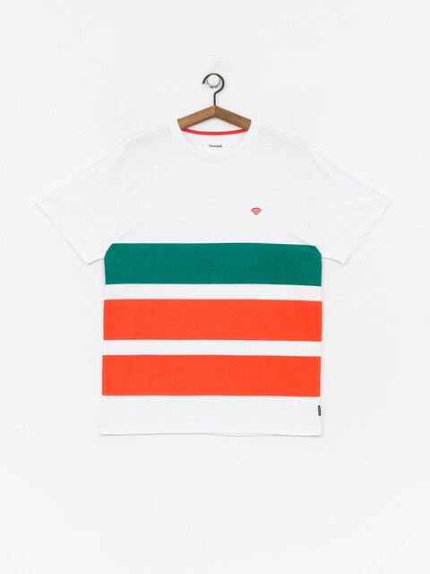Diamond Supply Co. Brilliant Patch Striped T-shirt