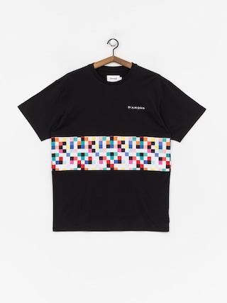 Diamond Supply Co. Pixel Panel T-shirt (black)