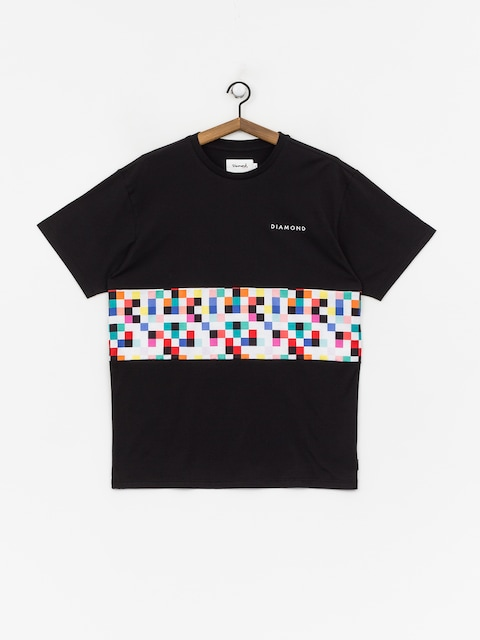 Diamond Supply Co. Pixel Panel T-shirt (black)