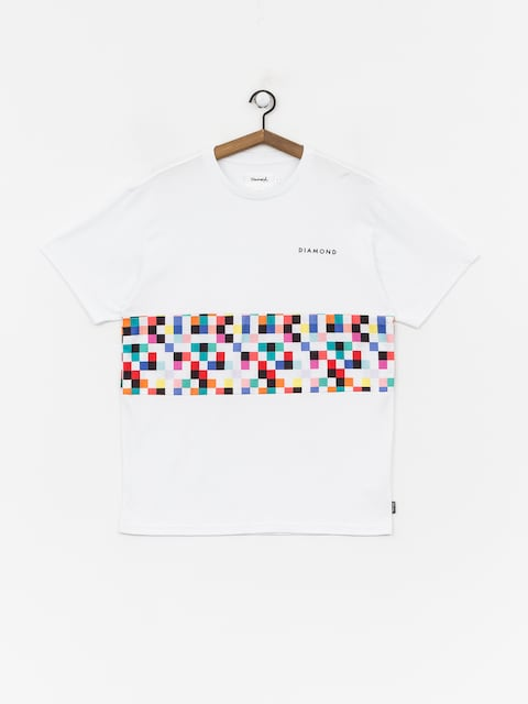Diamond Supply Co. Pixel Panel T-shirt (white)