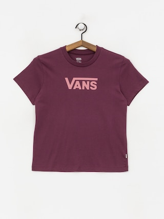 Vans Flying V Classic T-shirt Wmn (prune)