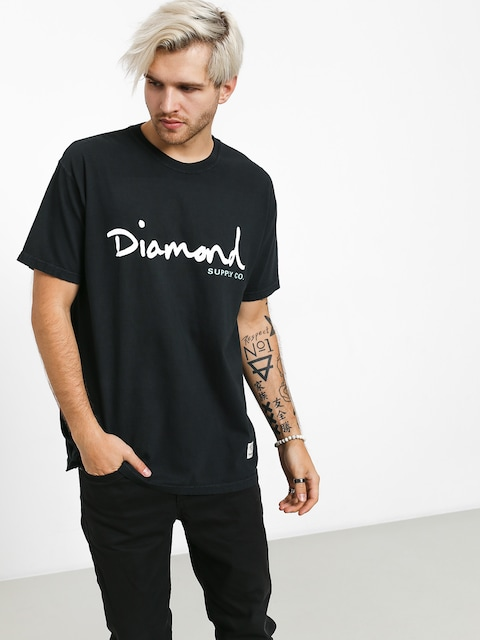 Diamond Supply Co. Og Script Overdye T-shirt