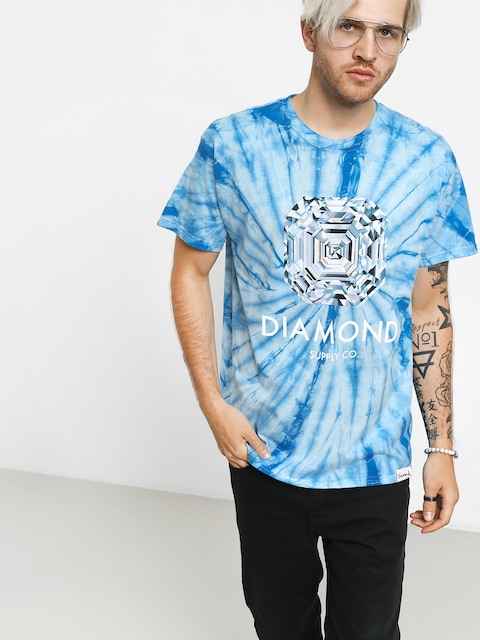 Diamond Supply Co. Asscher Cut Tie Dye T-shirt
