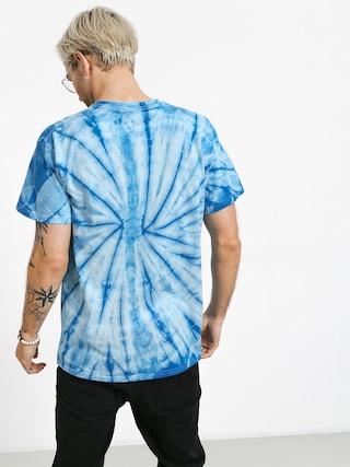 Diamond Supply Co. Asscher Cut Tie Dye T-shirt (blue)
