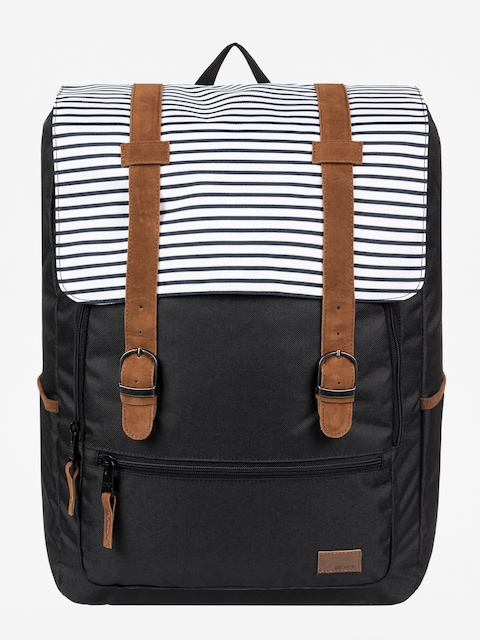 Roxy Ocean Vibes Backpack Wmn (anthracite marina stripes)