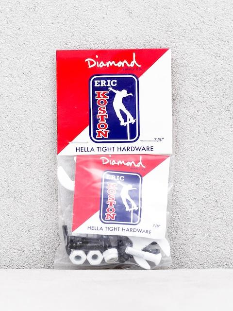 Diamond Supply Co. Signature Pro Hardware Eric Koston Bolts (white)