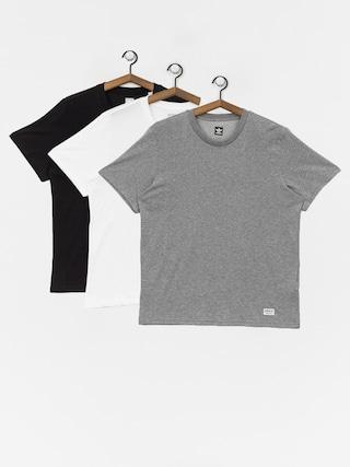 adidas New 3 Pck T-shirt (core heather/white/black)