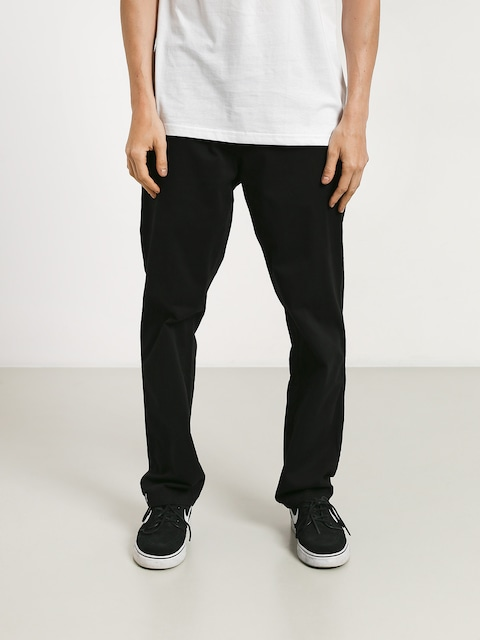 Malita Chino Low Pants (black/stripes)