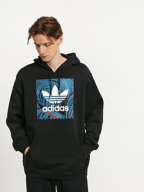 adidas Bb Print HD Hoodie (black/active teal/active orange)