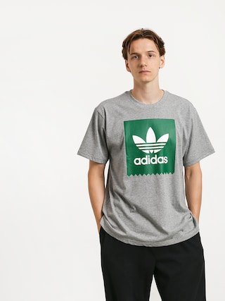 adidas Solid Bb T-shirt (core heather/bold green)