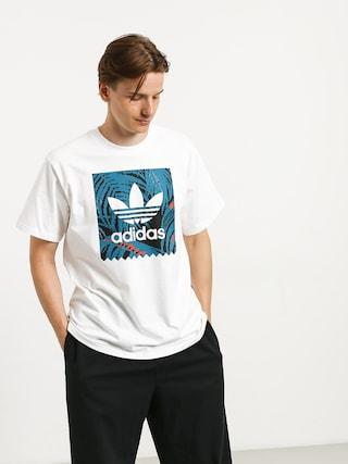 adidas Bb Print T-shirt (white/active teal/active orange)
