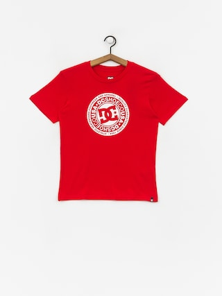 DC Circle Star T-shirt (racing red)