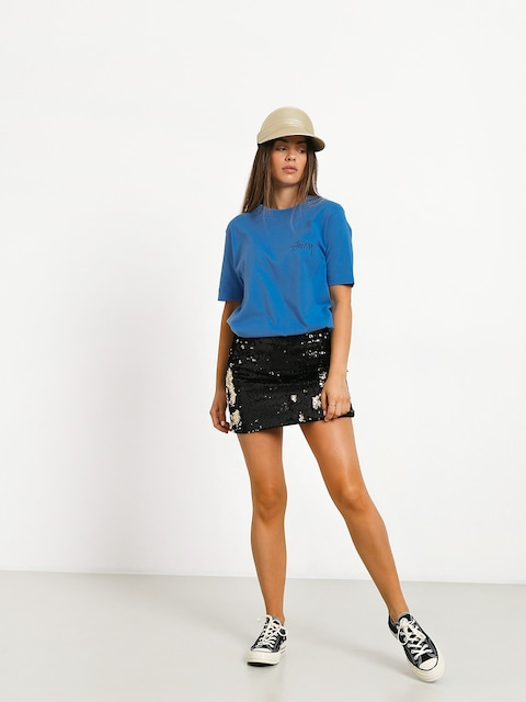 Stussy Stock T-shirt Wmn (blue)