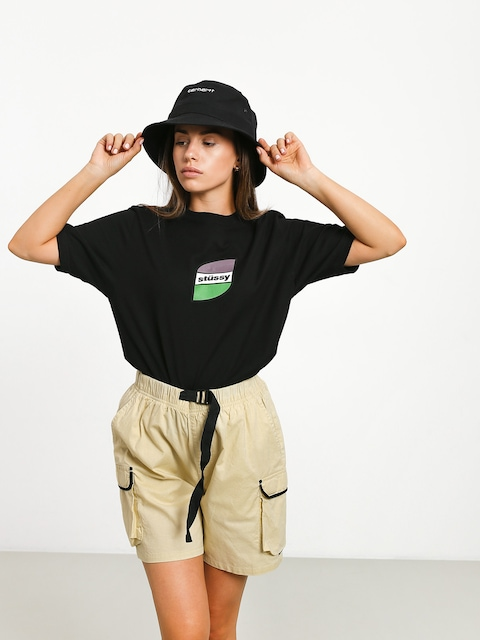 Stussy Stripes T-shirt Wmn (black)