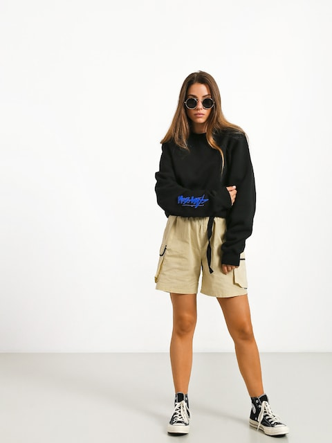 Stussy Stock Crew Sweatshirt Wmn (black)