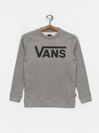Vans Classic Crew Sweatshirt (cement heather/black)