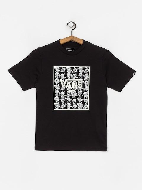 Vans Print Box T-shirt (black/skulls)