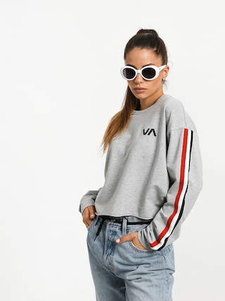 RVCA Ringside Sweatshirt (heather grey)