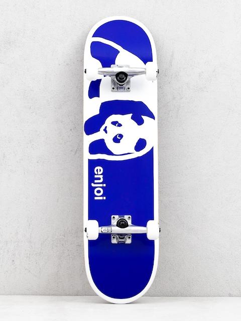Enjoi Negative Space Skateboard (blue)