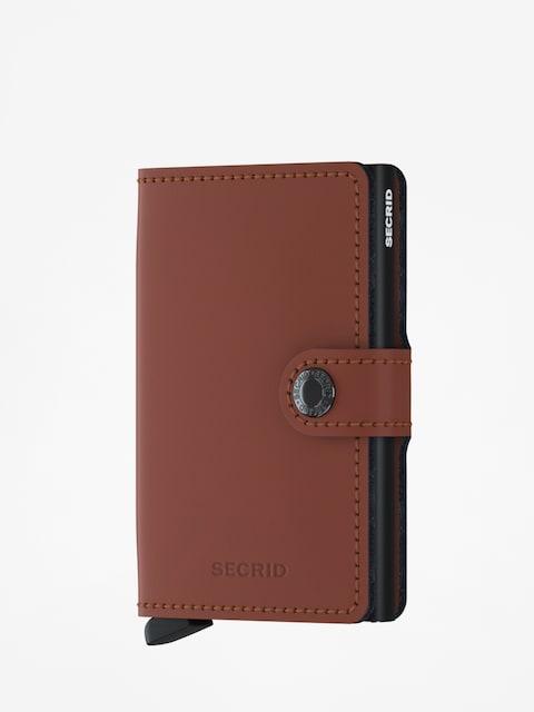 Secrid Miniwallet Matte Wallet (brick/black)