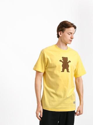Grizzly Griptape Og Bear T-shirt (banana)