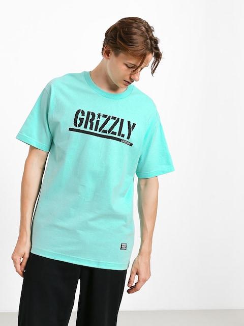 Grizzly Griptape Stamp T-shirt (miny/black)