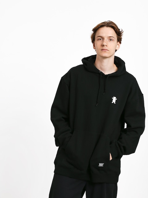 Grizzly Griptape Og Bear Embroidered HD Hoodie