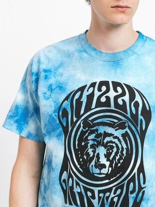 Grizzly Griptape Vertigo T-shirt (tie dye)