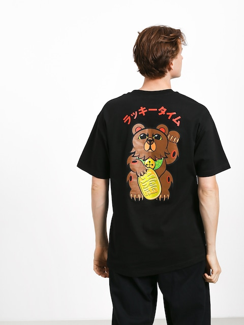 Grizzly Griptape Lucky Bear Pocket T-shirt