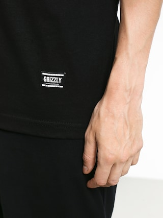 Grizzly Griptape Lucky Bear Pocket T-shirt (black)
