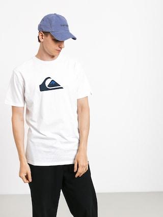 Quiksilver Comp Logo T-shirt (white)