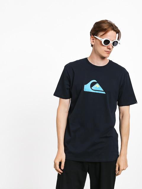 Quiksilver Comp Logo T-shirt (sky captain)