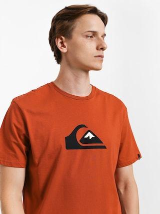 Quiksilver Comp Logo T-shirt (burnt brick)