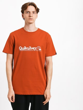 Quiksilver Modern Legends T-shirt (burnt brick)