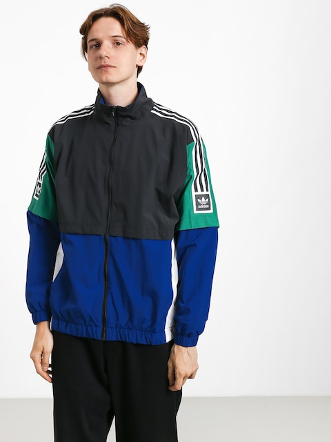 adidas Stdrd 20 Jacket (carbon/collegiate royal/bold green/white)