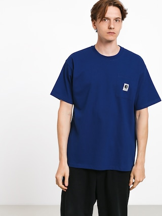 Polar Skate Pocket T-shirt (dark blue)