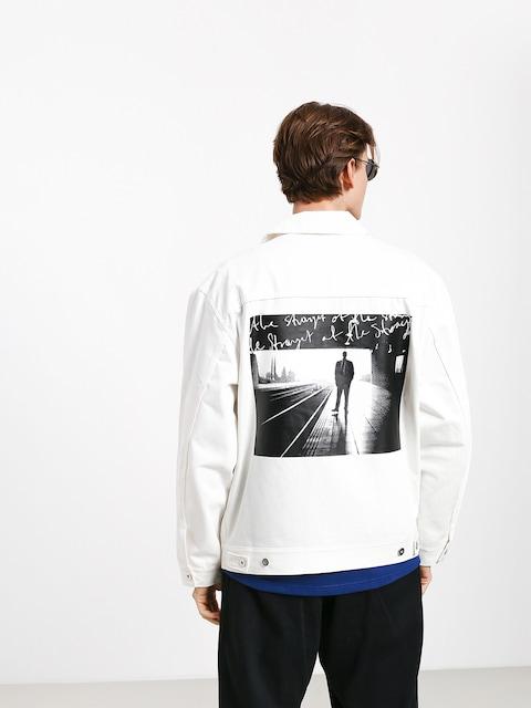 Polar Skate Notes Denim Jacket (ivory)