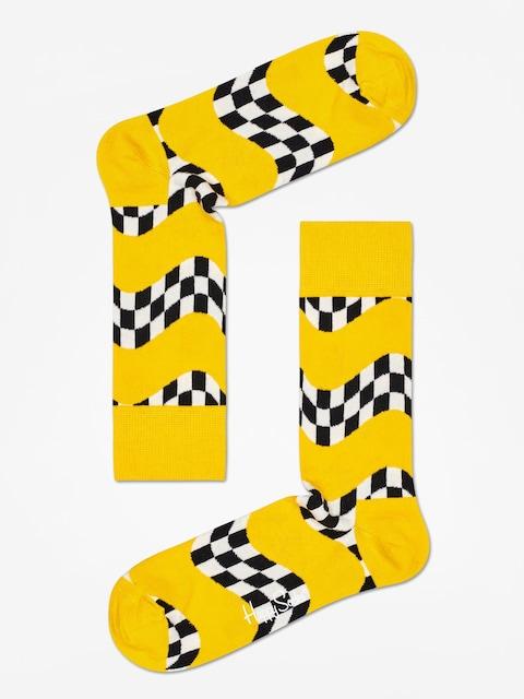 Happy Socks Race Socks (yellow)