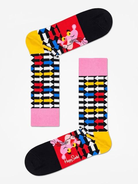 Happy Socks Pink Panther Jet Pink Socks (black/multi)