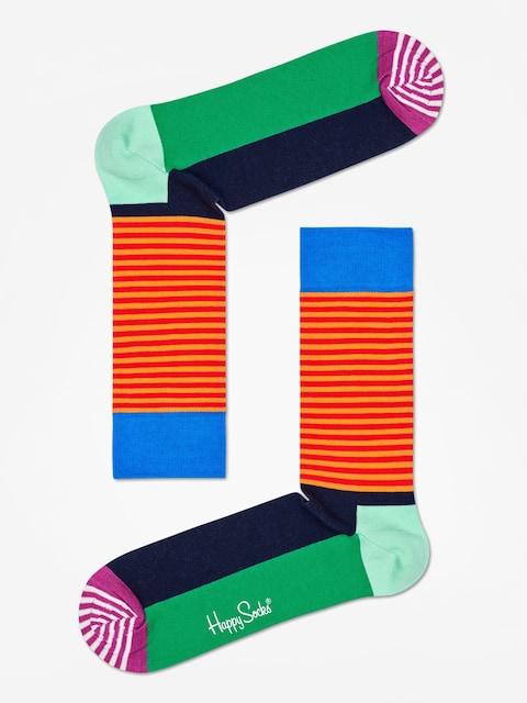 Happy Socks Half Stripe Socks (multi)