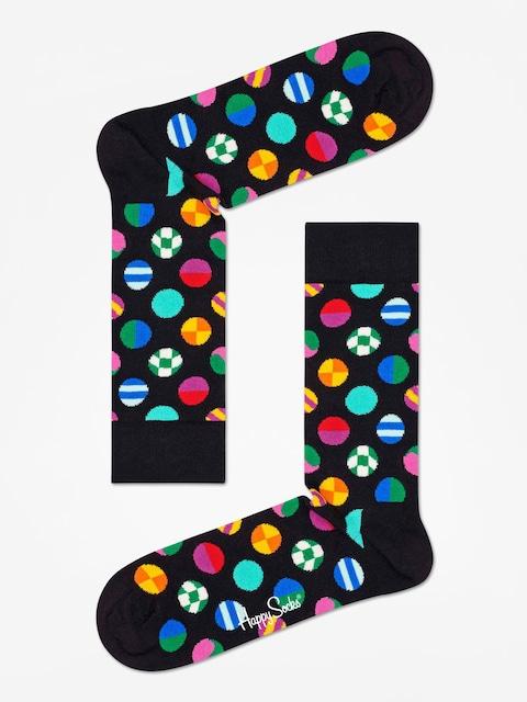 Happy Socks Clashing Dot Socks (black/multi)