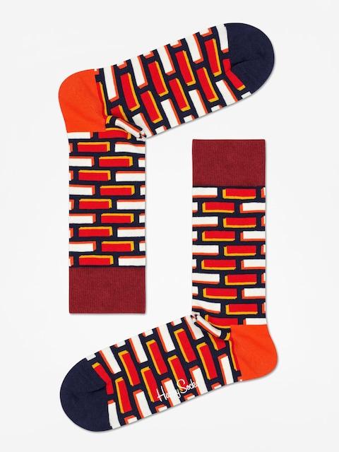 Happy Socks Brick Socks (red/white)