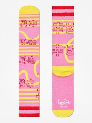 Happy Socks Athletic Japan Socks (pink)