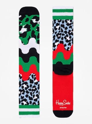 Happy Socks Athletic Animal Socks (green/red/multi)