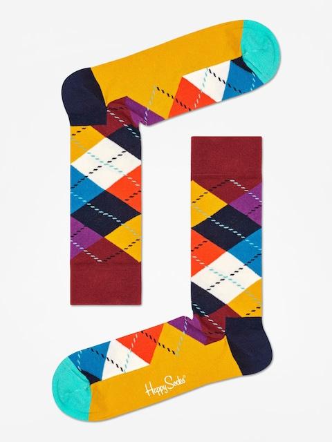 Happy Socks Argyle Socks (brown/gold/multi)