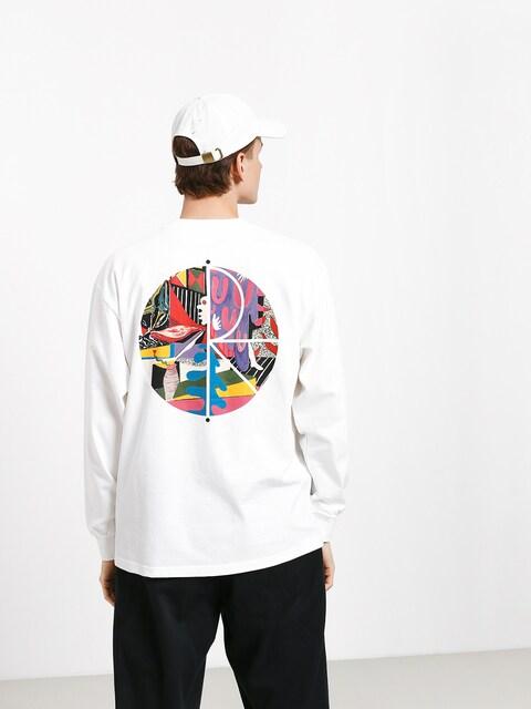 Polar Skate Tk Fill Logo Longsleeve (white)