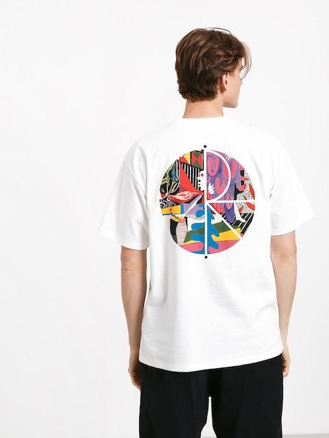 Polar Skate Tk Fill Logo T-shirt (white)