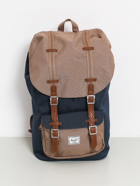 Herschel Supply Co. Little America Backpack (navy/pine bark/tan)